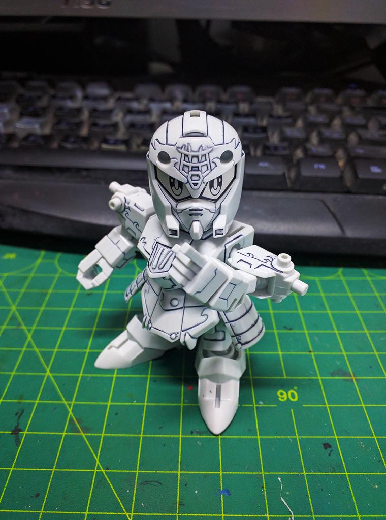 SD 真・曹操 Gundam (環保素材)【活動限定】