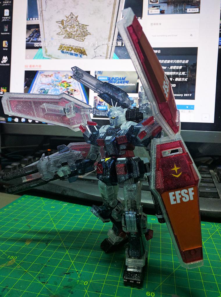 HGTB FA-78 全武裝高達 - Thunderbolt ver.【劇場限定】