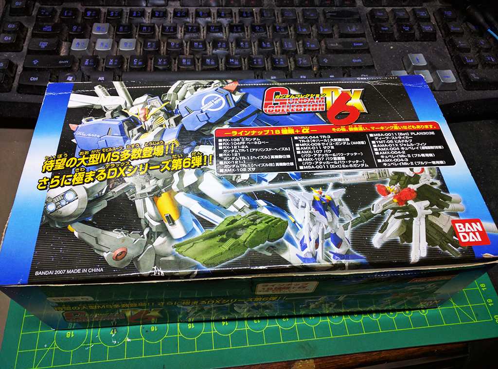 Gundam Collection DX6