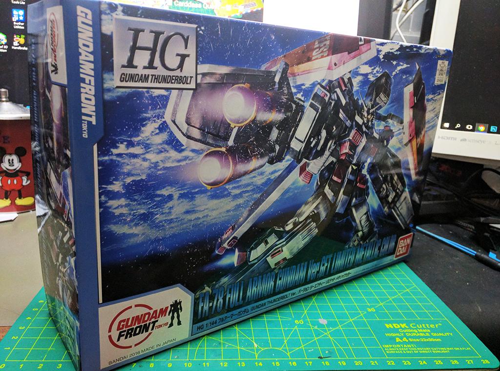 HGTB FA-78 Full Armor Gundam ver GFT 限定金屬成色【台場限定】
