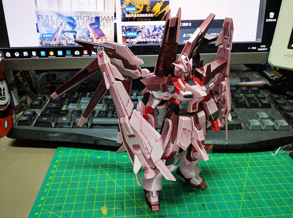 HGBF Hi-nu Gundam Vrabe Amazing ver. 紅之彗星【Expo限定】