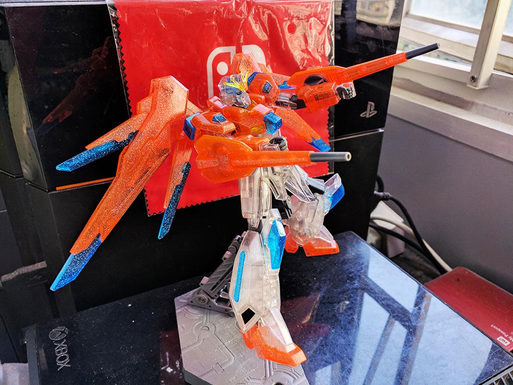 HGBF Scramble Gundam - Plavsky粒子透明Ver.【活動限定】