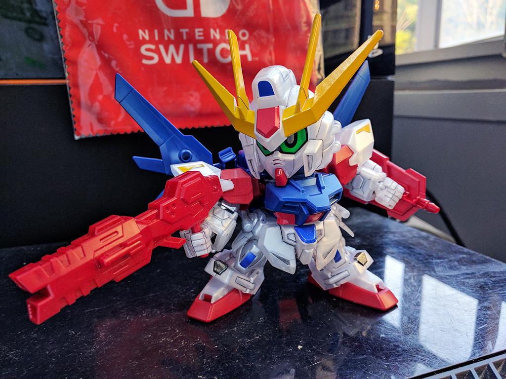 SD BB戰士[388] Build Strike Gundam Full Package [金屬感成色]【活動限定】