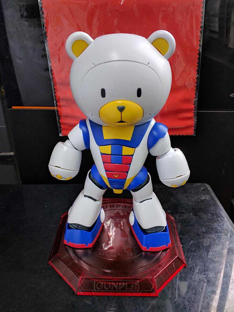 HGBF Beargguy III - Tricolor配色【GBT限定】