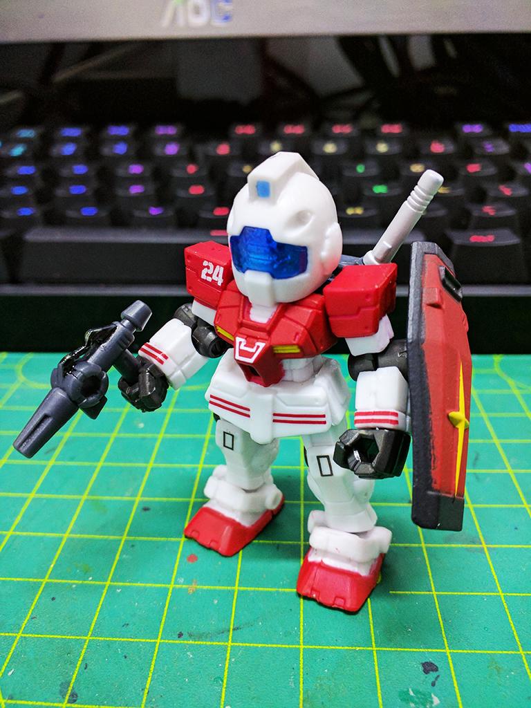 Mobile Suit Ensemble RGM-79 GM (真實配色)