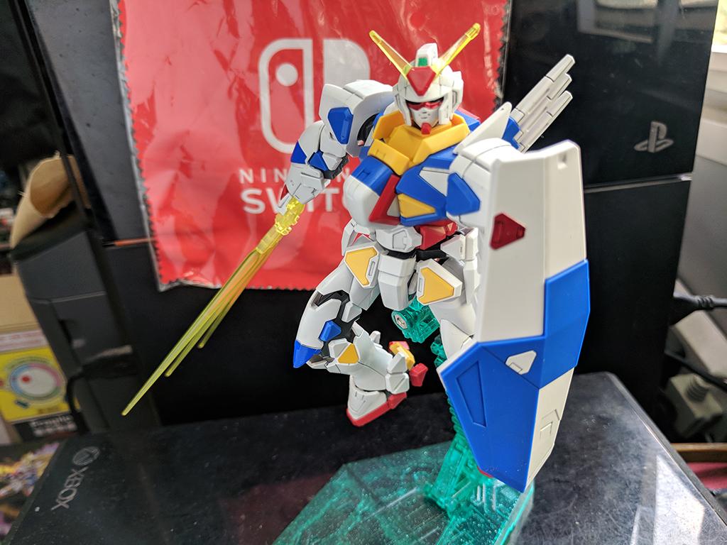 HGGPB GPB-X80 Beginning Gundam