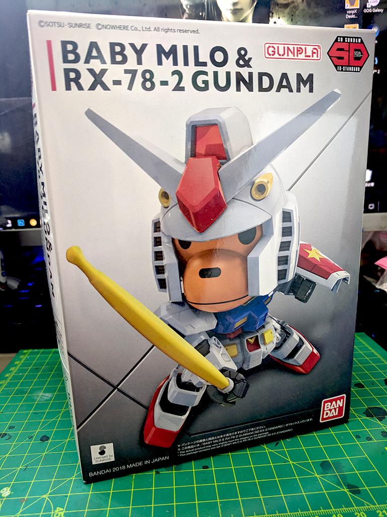SD-EX Baby Milo & RX-78-2 Gundam
