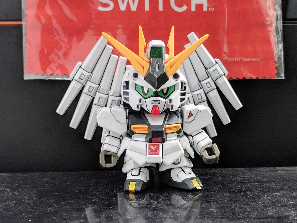Minipla SG Nu Gundam