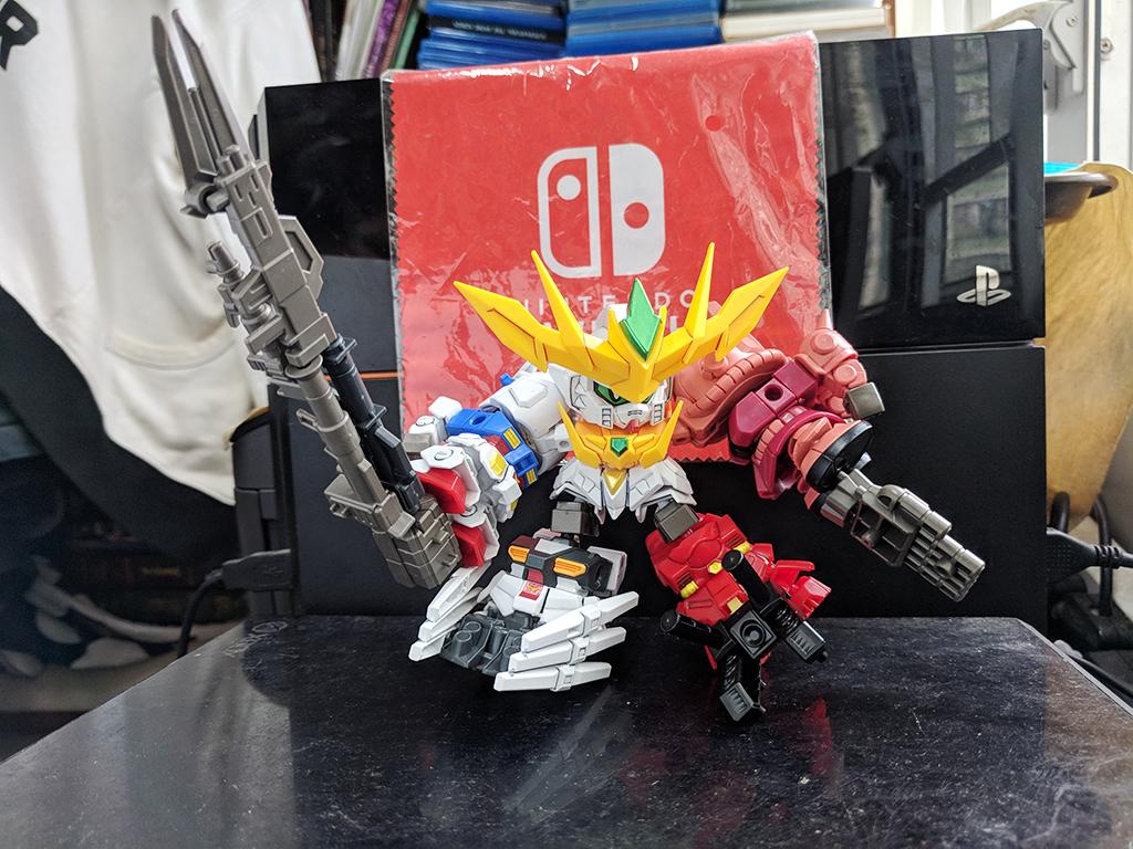 Minipla Super Shock Gundam