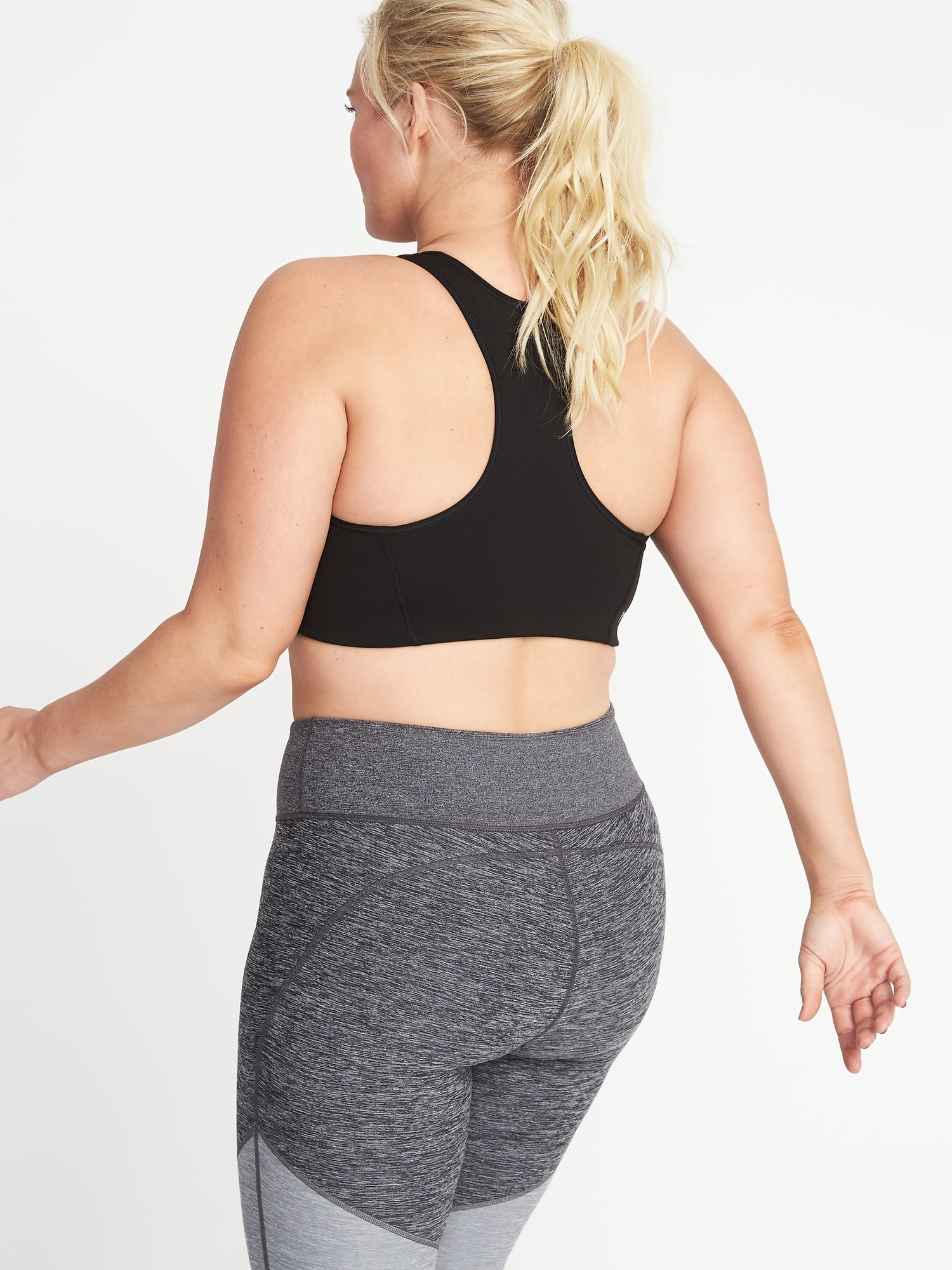 00da041992b074 Home Shop Medium Support Plus-Size Racerback Sports Bra by Old Navy.  Categories: All Products, Basics, Sports Bras.
