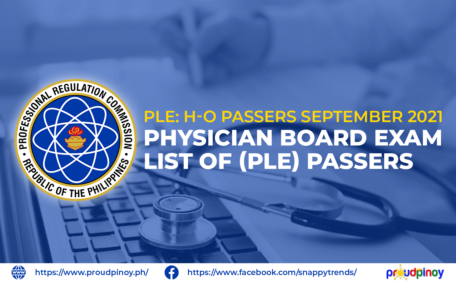 h-o passers september 2021 - physician board exam