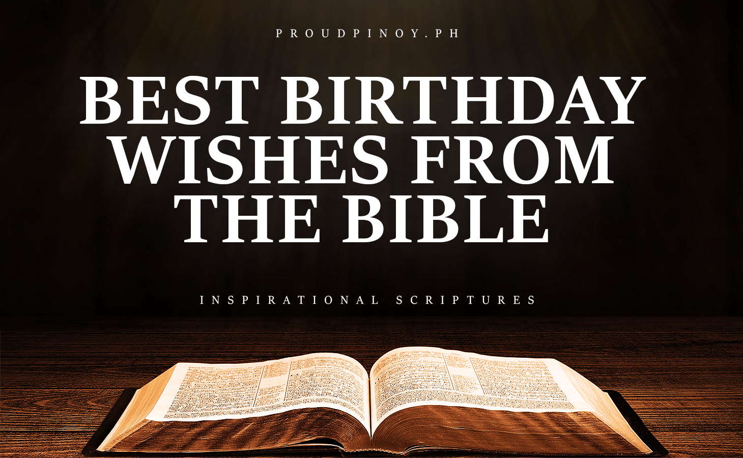 Bible Verses for Birthday Wishes for Friend and Husband