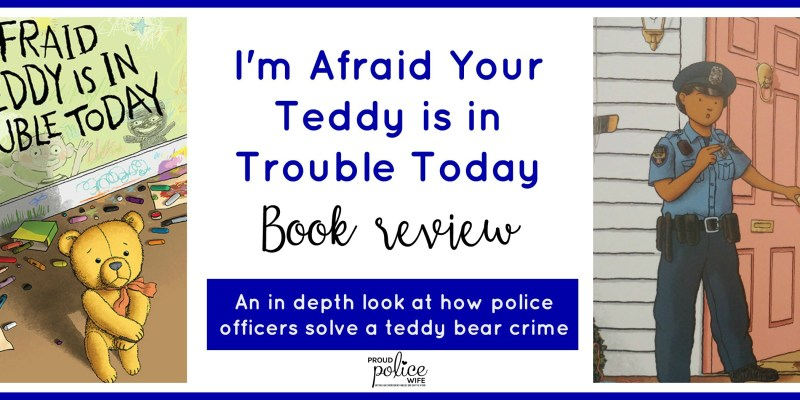 I'm Afraid Your Teddy is in Trouble Today Book Review