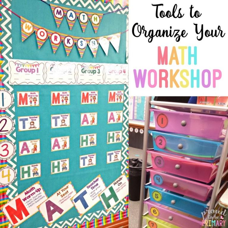 Complete Math Workshop Tool Kit