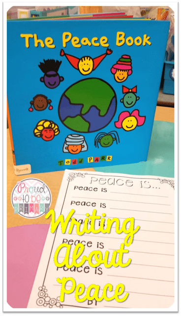 peace activities for the classroom - the peace book