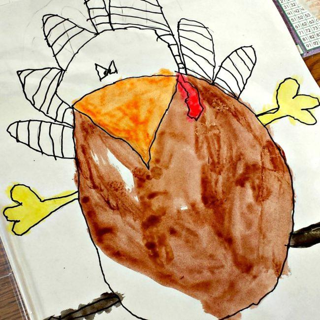 ninja turkey art