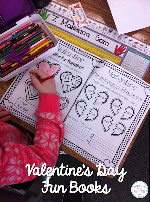 valentine's day activities for elementary school - fun books