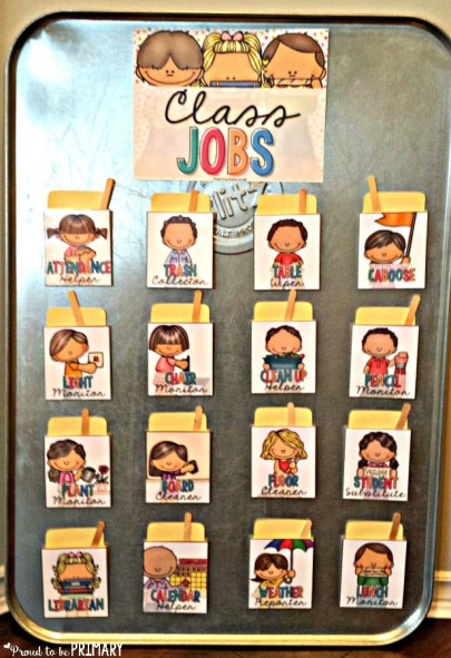 classroom management ideas job board