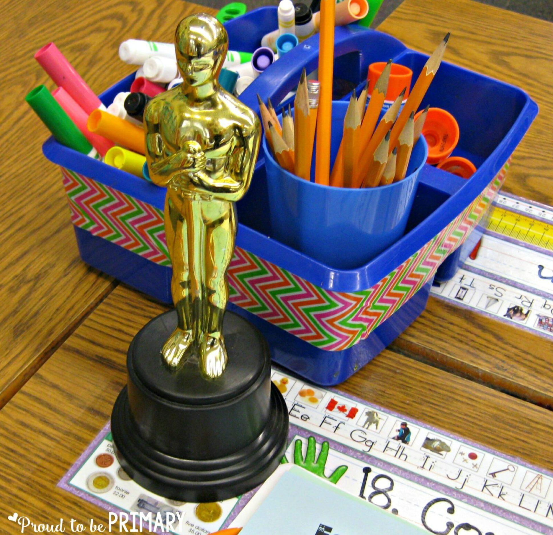 classroom management ideas Oscar Trophy award