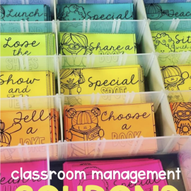 Tips for Using Classroom Management Reward Coupons