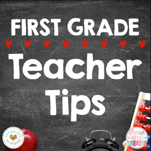 first grade teacher tips