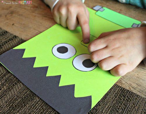 fun Halloween activities for kids - Franken-buddies
