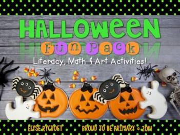 Fun Halloween Activities for kids - Halloween Fun Pack
