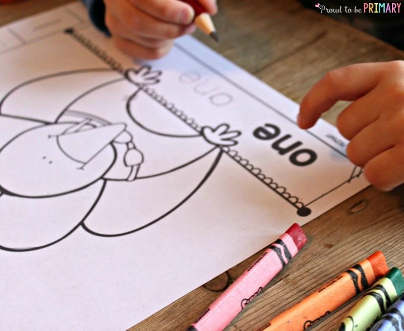 Building number sense turkeys. Spelling number words aloud.