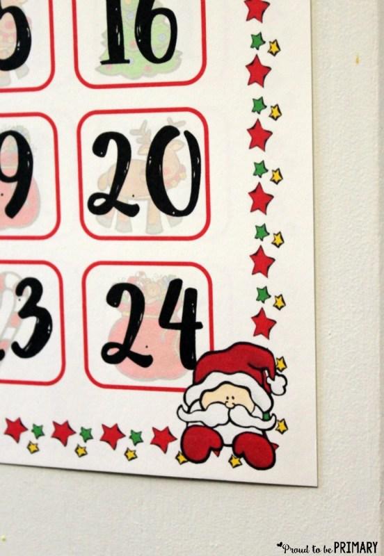 Christmas holiday countdown