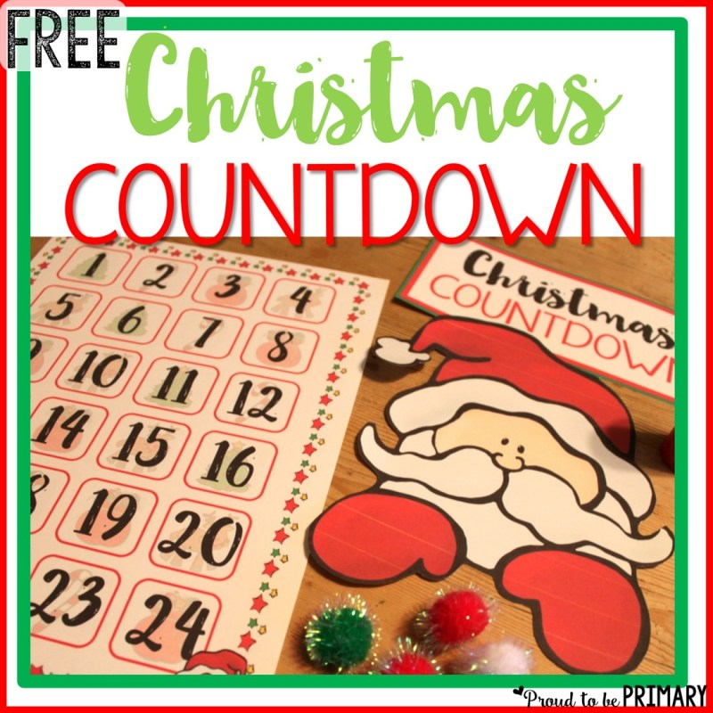 Christmas Holiday Countdown