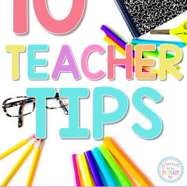 teacher tips for the first week PIN
