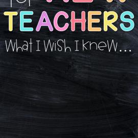 tips for new teachers pin