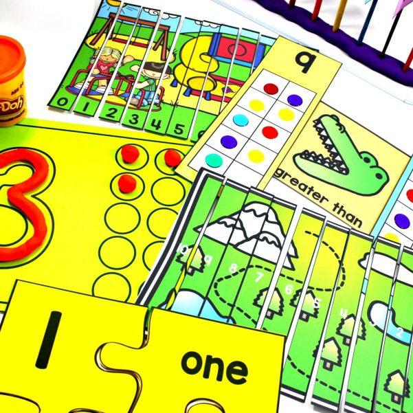 mindful math program hands on activities