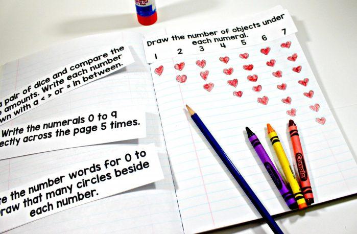 mindful math program journal prompts