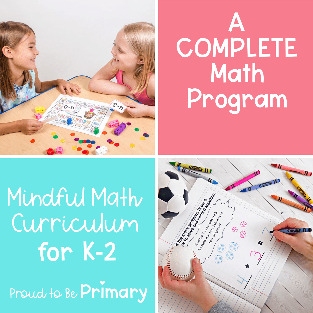 Math Program: Mindful Math Curriculum for Primary Grades [ 1200 x 1200 Pixel ]