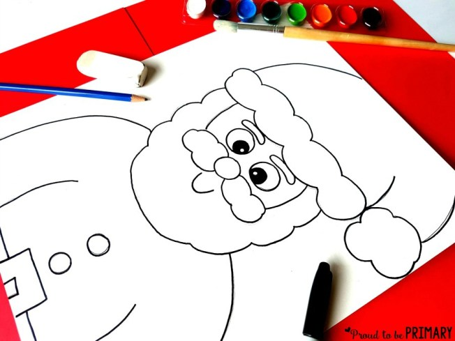Decorate your class or home for the holidays with the Santa Claus directed drawing activity. Follow the easy step by step instructions that you can use for FREE!