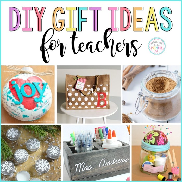 DIY gifts for teachers