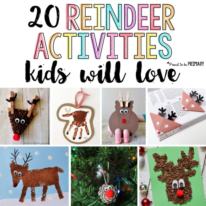 Reindeer Crafts for Kids