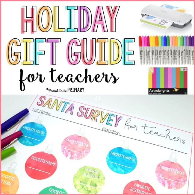 Holiday gifts for teachers