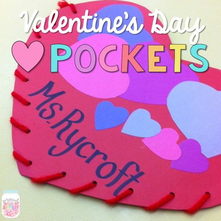 Proud to Be Primary - Valentines Day Pockets