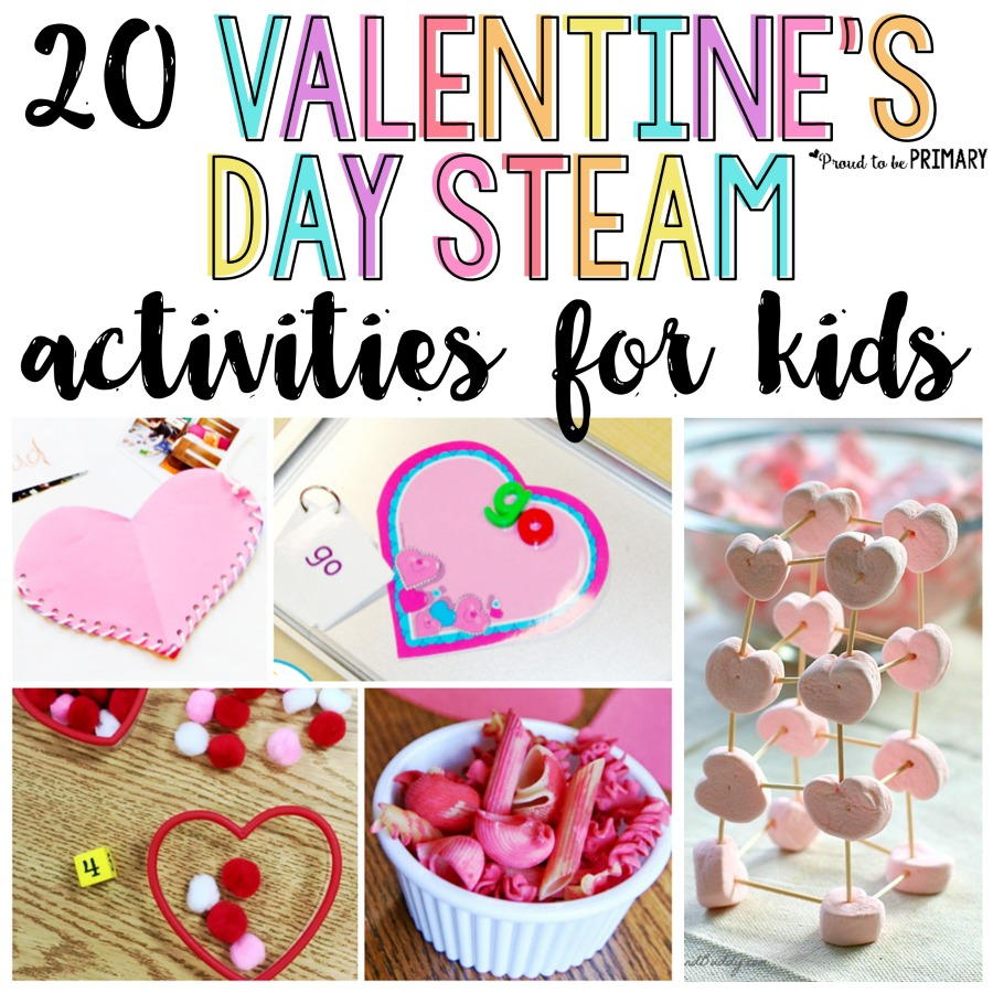20 Valentine's Day Activities for Kids - Make it a STEAM holiday! – [ 900 x 900 Pixel ]
