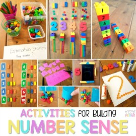 Number Sense Activities and Lessons for Kids
