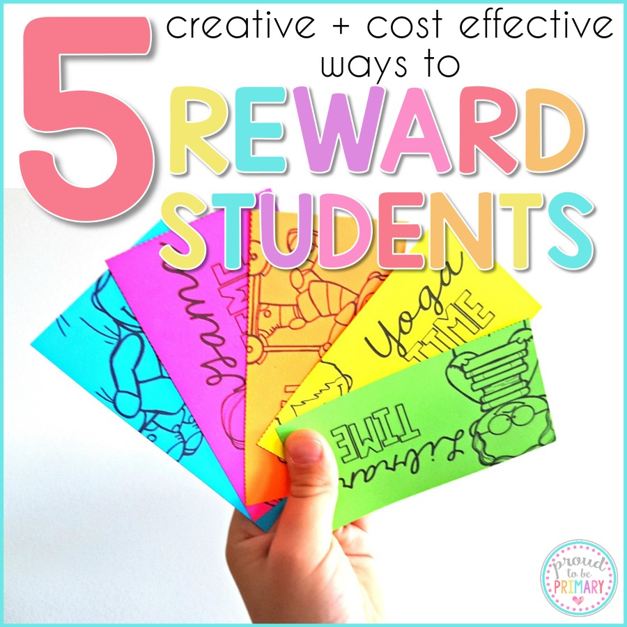 reward for kids - creative and cost effective
