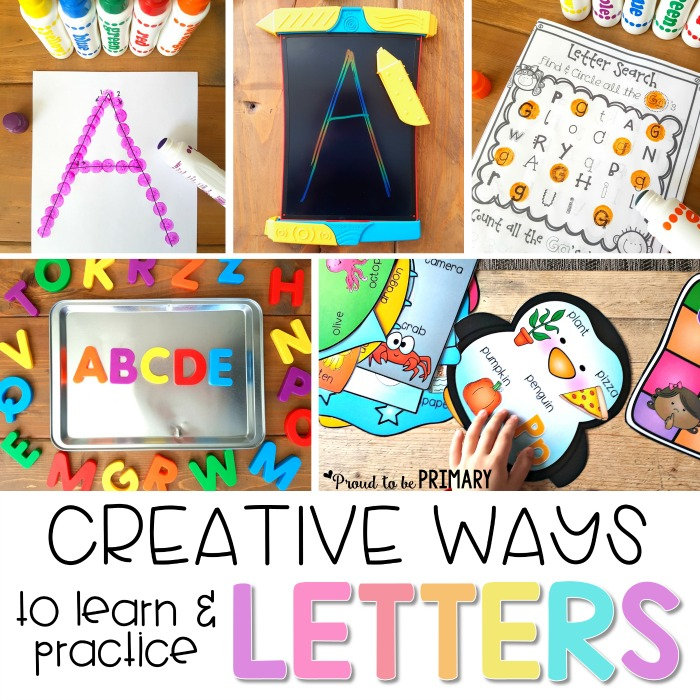 creative and fun ways to teach letter recognition