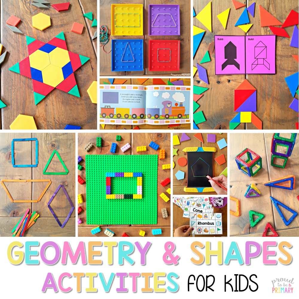 Geometry and Shapes for Kids: Activities that Captivate – [ 1000 x 1000 Pixel ]
