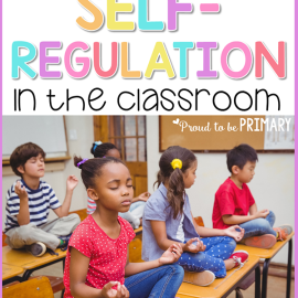teaching self-regulation skills in the classroom
