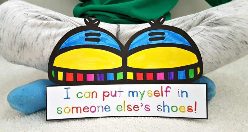 teaching empathy - someone else's shoes