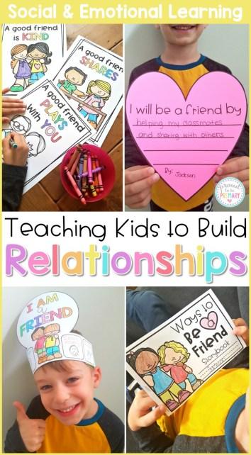 friendship activities - relationships curriculum