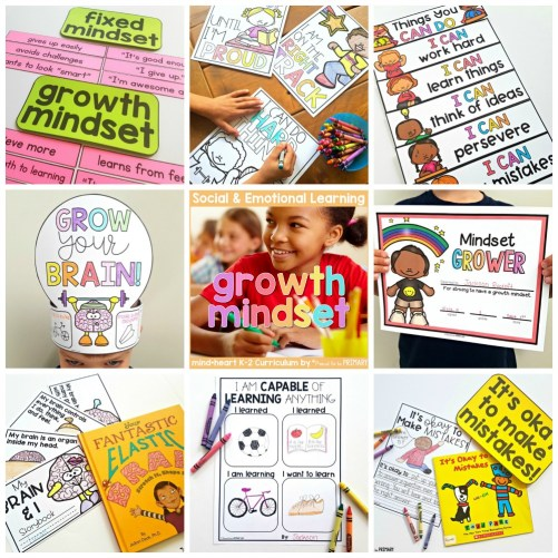 growth mindset activities - growth mindset unit for K-2
