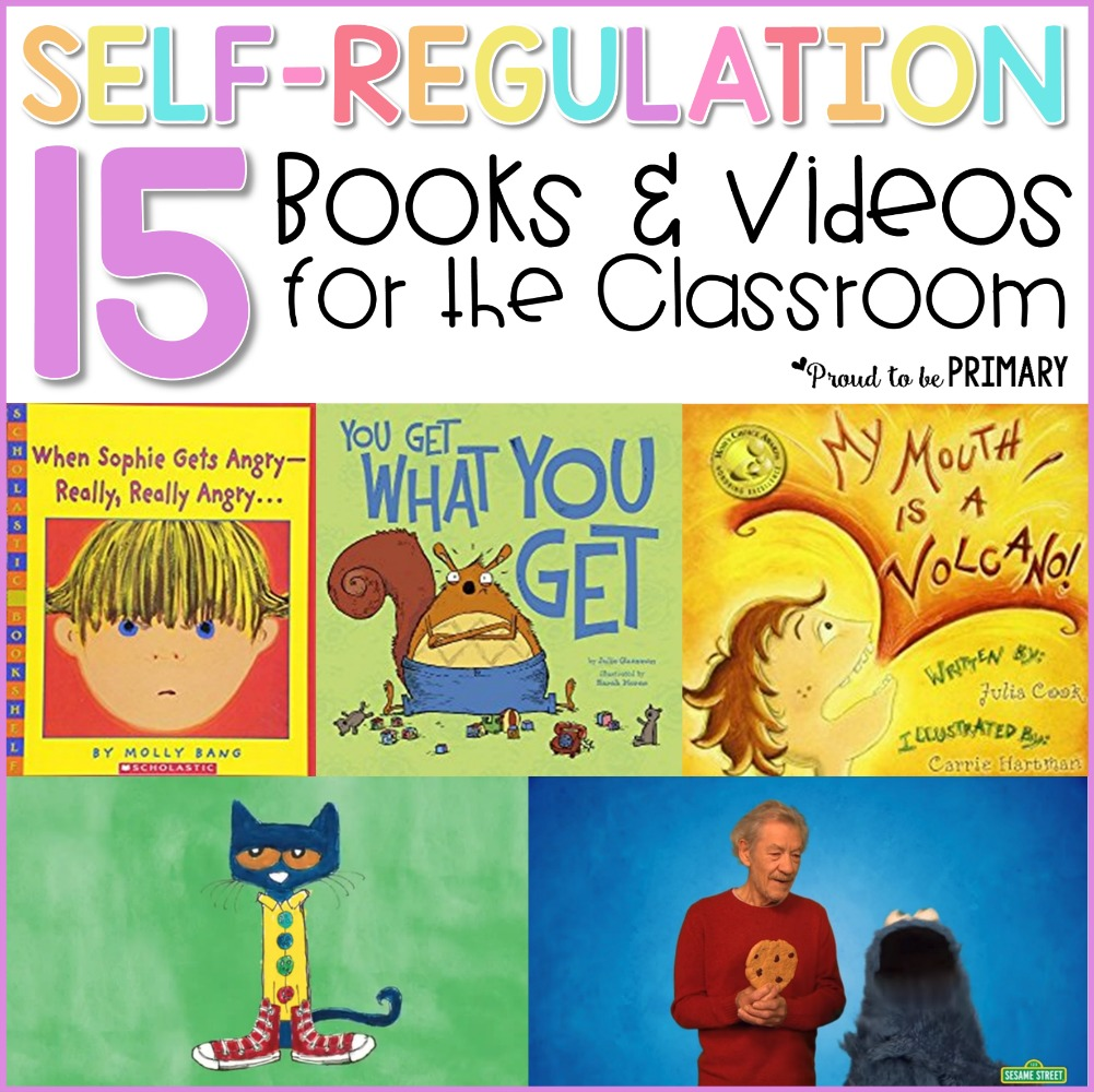 books and videos that teach self-regulation strategies